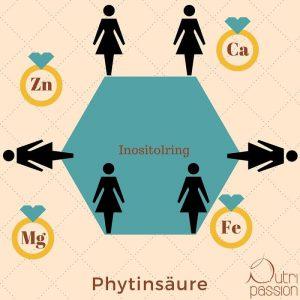 Phytinsäure Aufbau