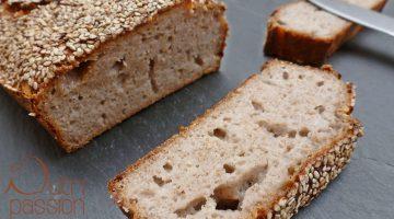 Reines Buchweizenbrot und -Pfannkuchen