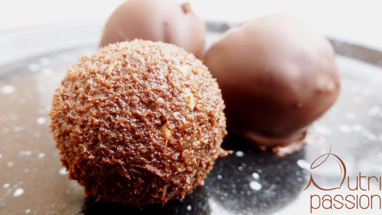 Schokoladige Pralinen – Eiskonfekt