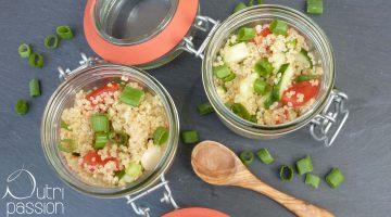 Sommersalat mit Quinoa