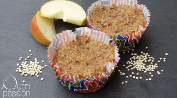 Quinoa Muffins mit Apfelmus