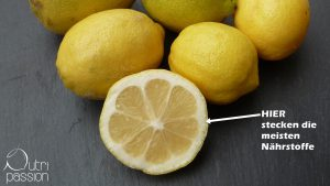 Zitrone Nährstoffe