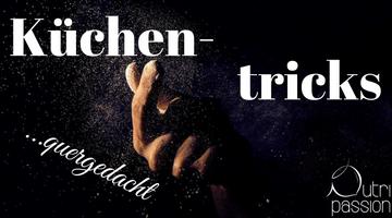 Küchentricks quergedacht