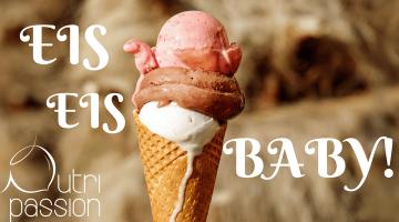 Veganes gesundes Eis selbstgemacht