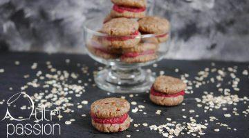 Beeren-Macarons