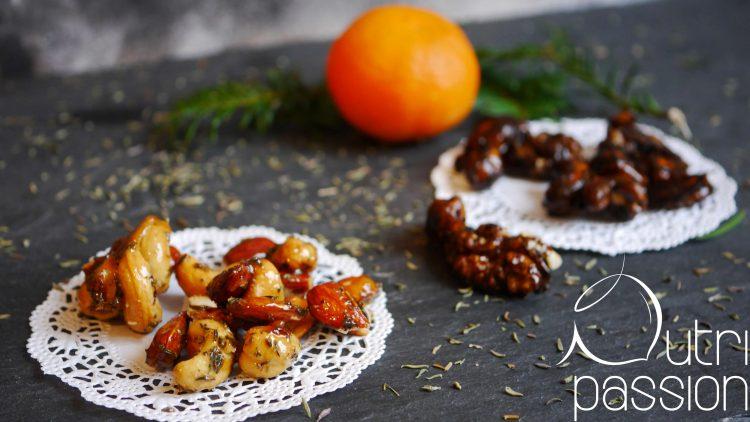 Gebrannte Mandeln und andere Nüsse mit Honig
