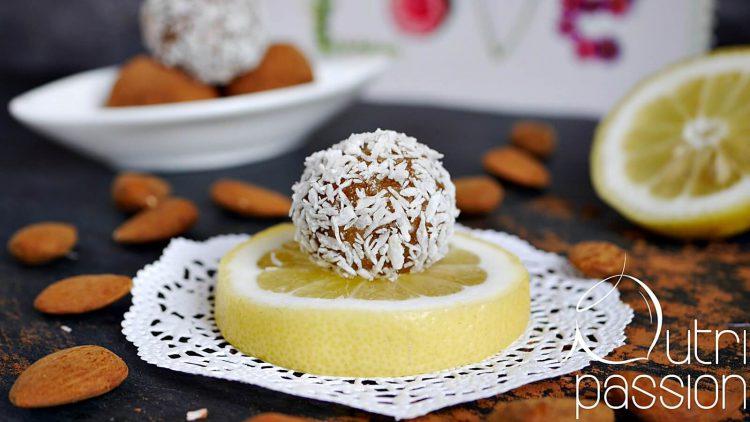 Zitronen-Mandel-Kugeln