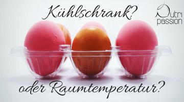 Gehören Eier in den Kühlschrank?