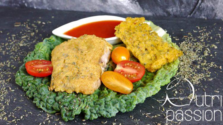 Paniertes Wels-Filet mit Polenta (glutenfrei)