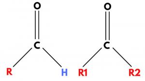 keton-aldehyd