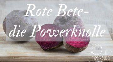 Rote Bete – die Powerknolle