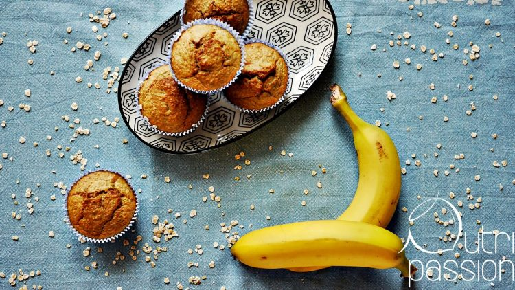 Bananenbrot in Muffinform