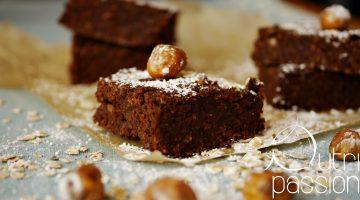Glutenfreie vegane Brownies