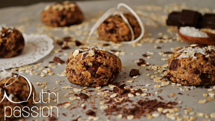 Vegane Chocolate Chip Cookies mit Erdnussmus